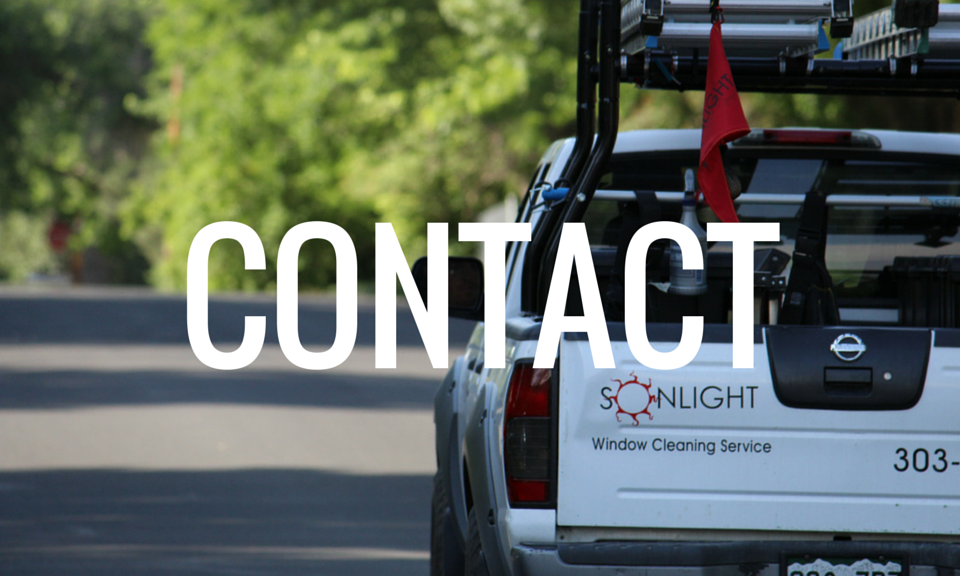 Contact us to set up your window washing appointment!
