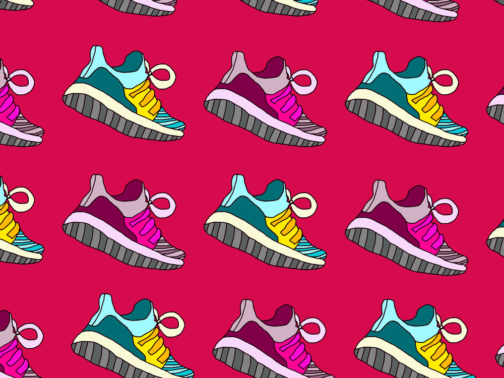A little sneaker pattern for ya
