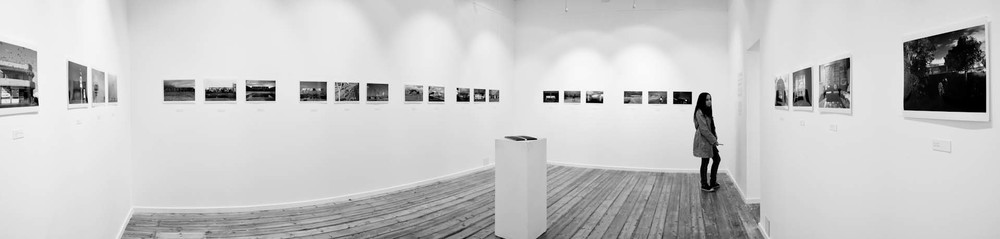 Installation view of Uitsig, 2010 exhibition at the Michaelis Galleries, Cape Town.