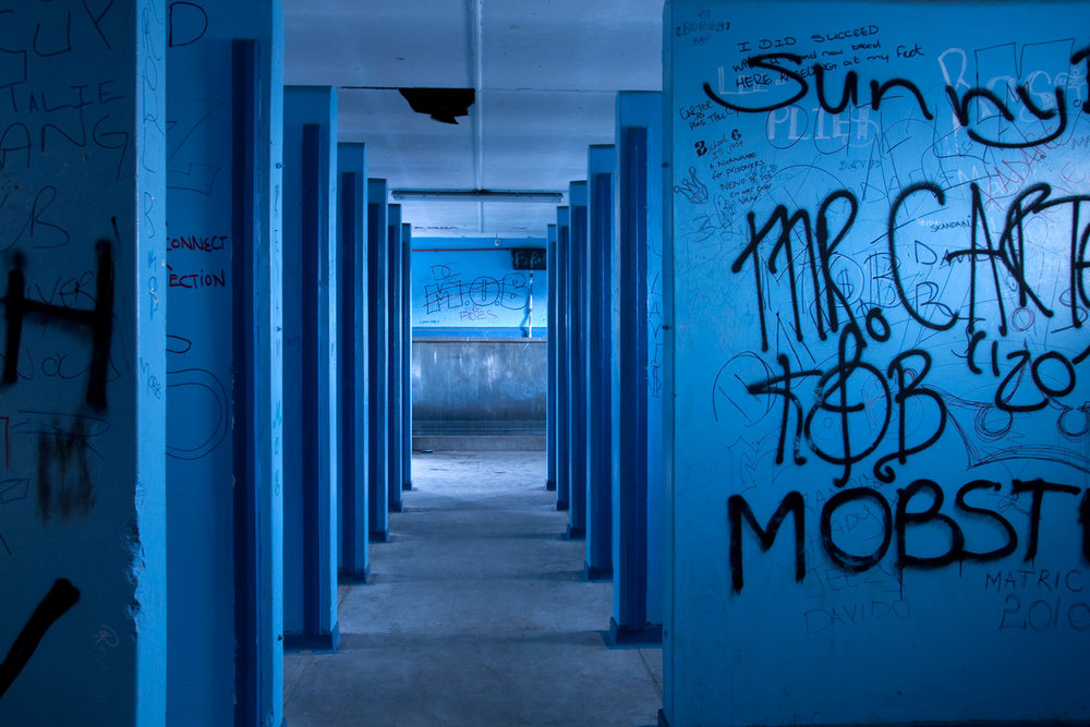 Blue Bathroom, 2011