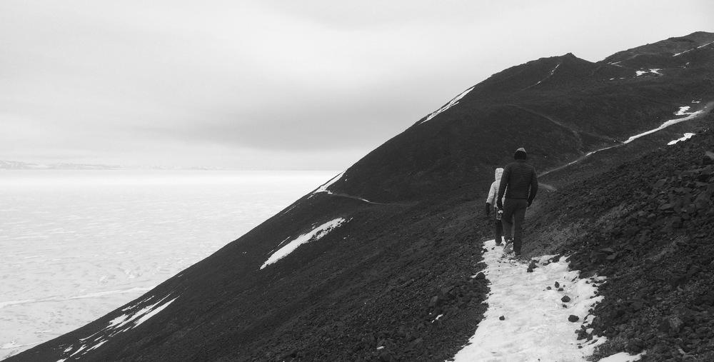 Hut Point Ridge hike.