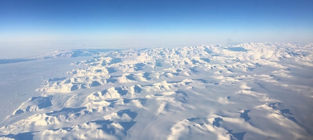 En route from Christchurch to McMurdo. August 2018