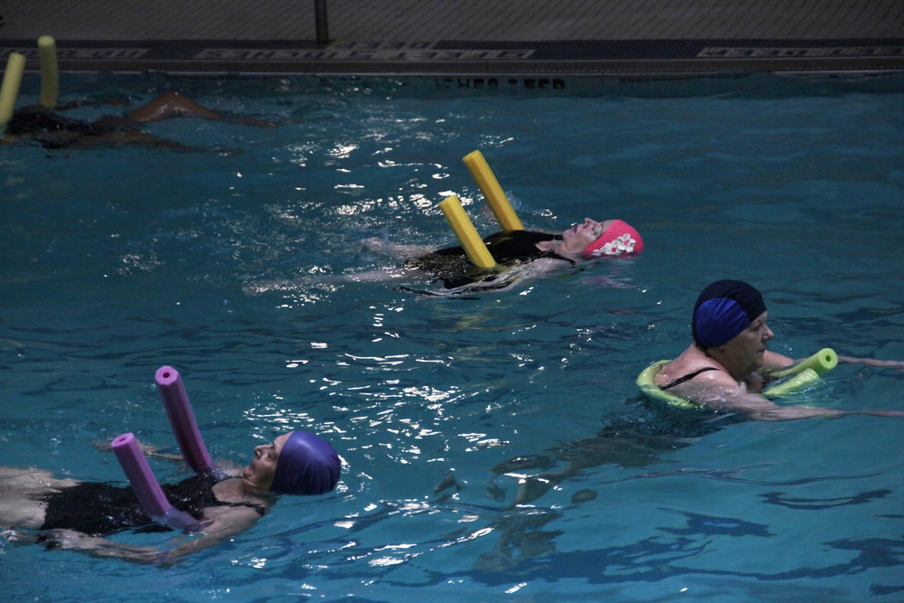 Senior Aquatics Trio