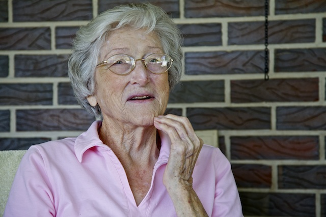 Velma Latham, maker of fine fried okra