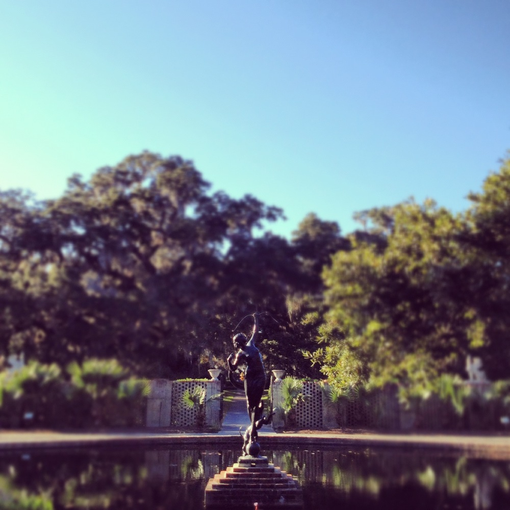 'Diana of the Chase' by Anne Hyatt Huntington. Brookgreen Gardens, Murrells Inlet, SC