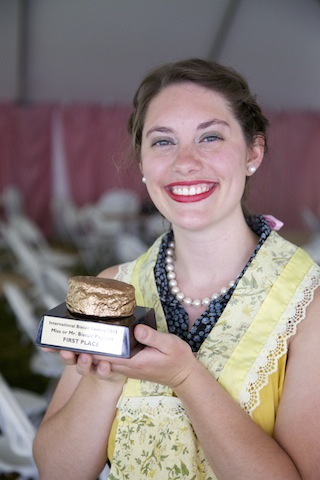 Liz Barr, the reigning Miss Biscuit 2013