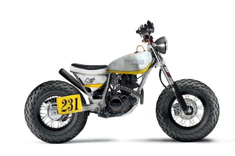 Custom TW200 by designer Joao Alves