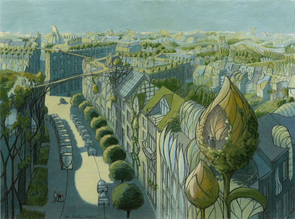 Luc Schuiten 'Vegetal city'