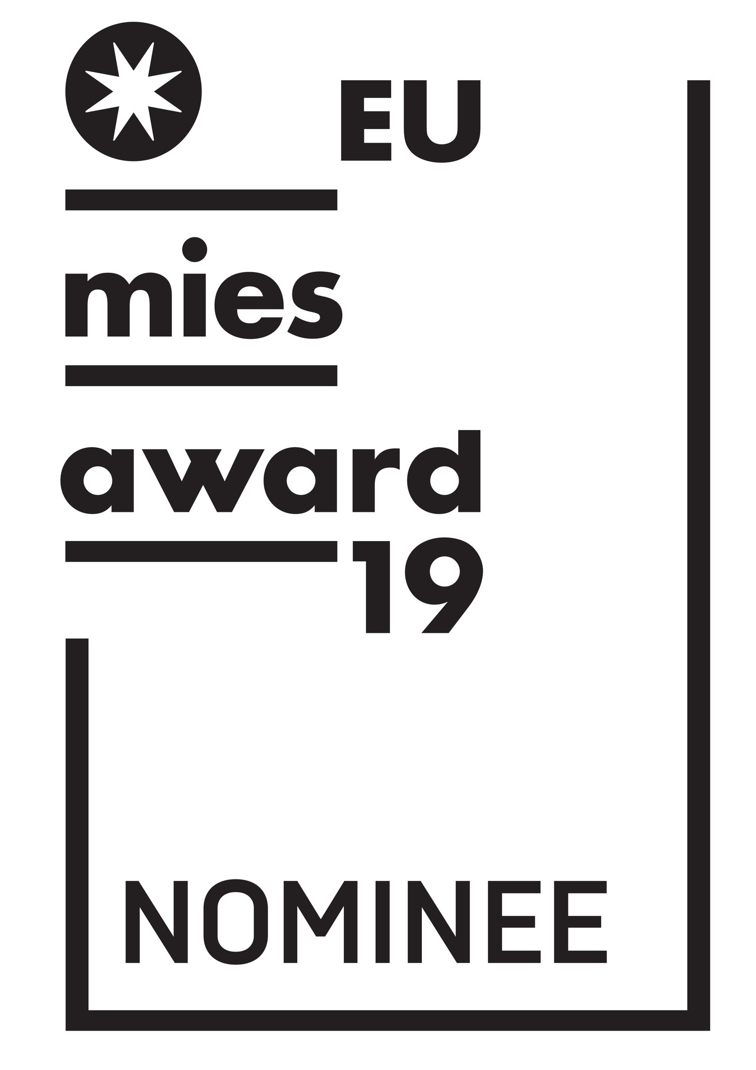 Nominated European Union Prize For Contemporary Architecture Mies