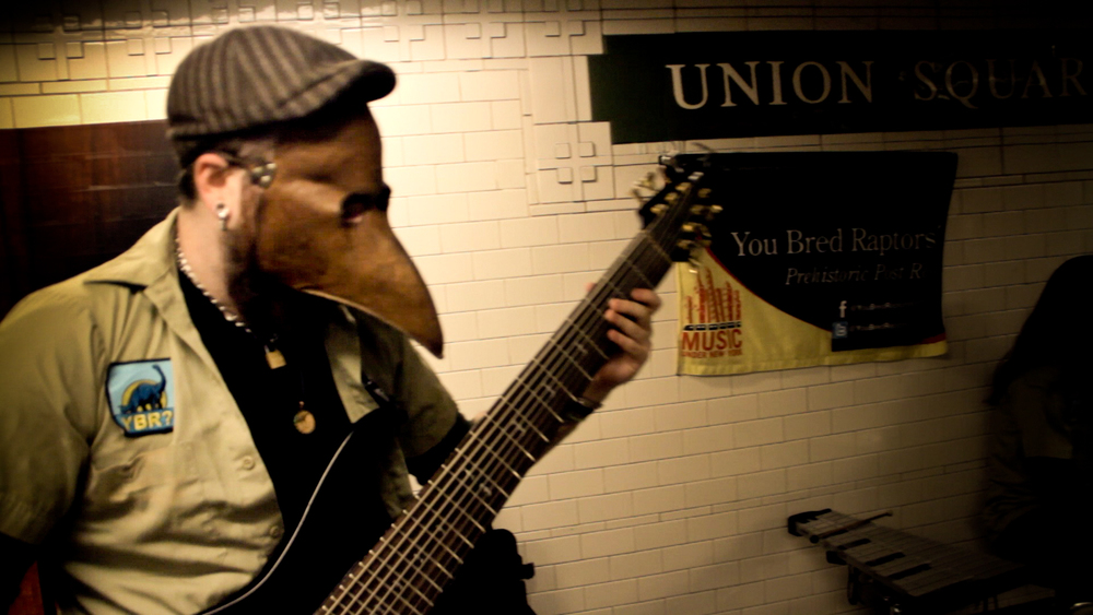 You Bred Raptors? An unmasked portrait of a band immersed in their innovative rock soundscapes.