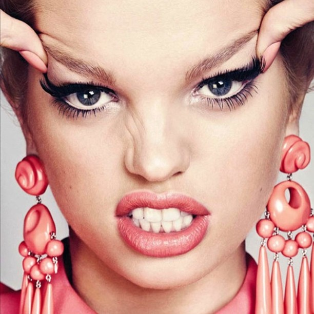 ::on the blog today: Daphne Groeneveld for Harper's Bazaar Spain! #blog #fashion #daphnegroeneveld