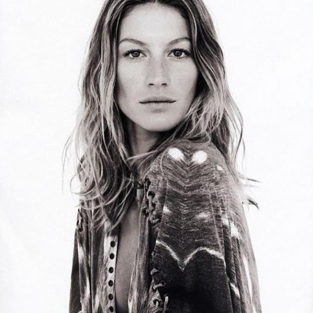 Bohemian Giselle! #model #fashion #gisellebundchen