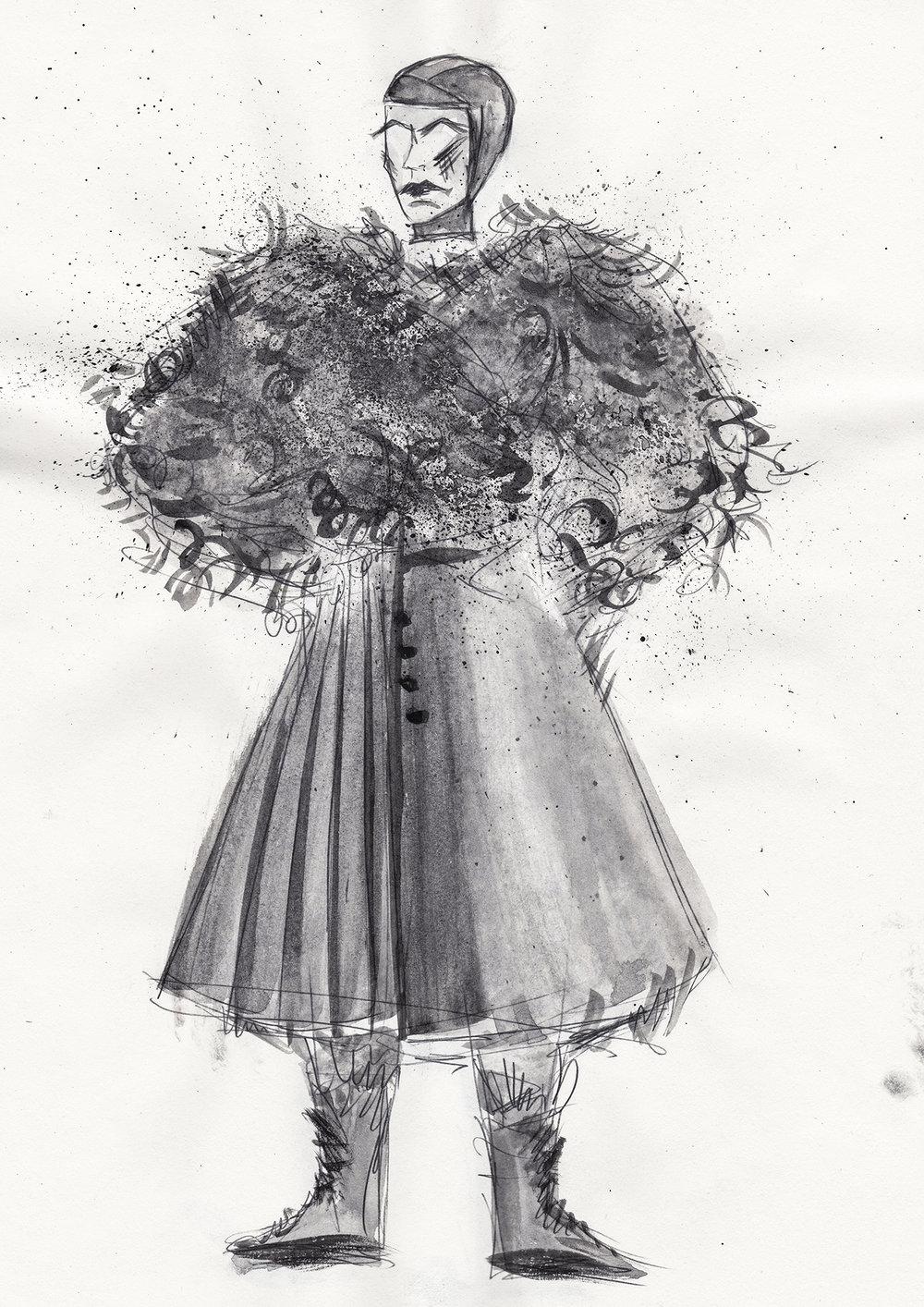 Macbeth /1/ - Costume design