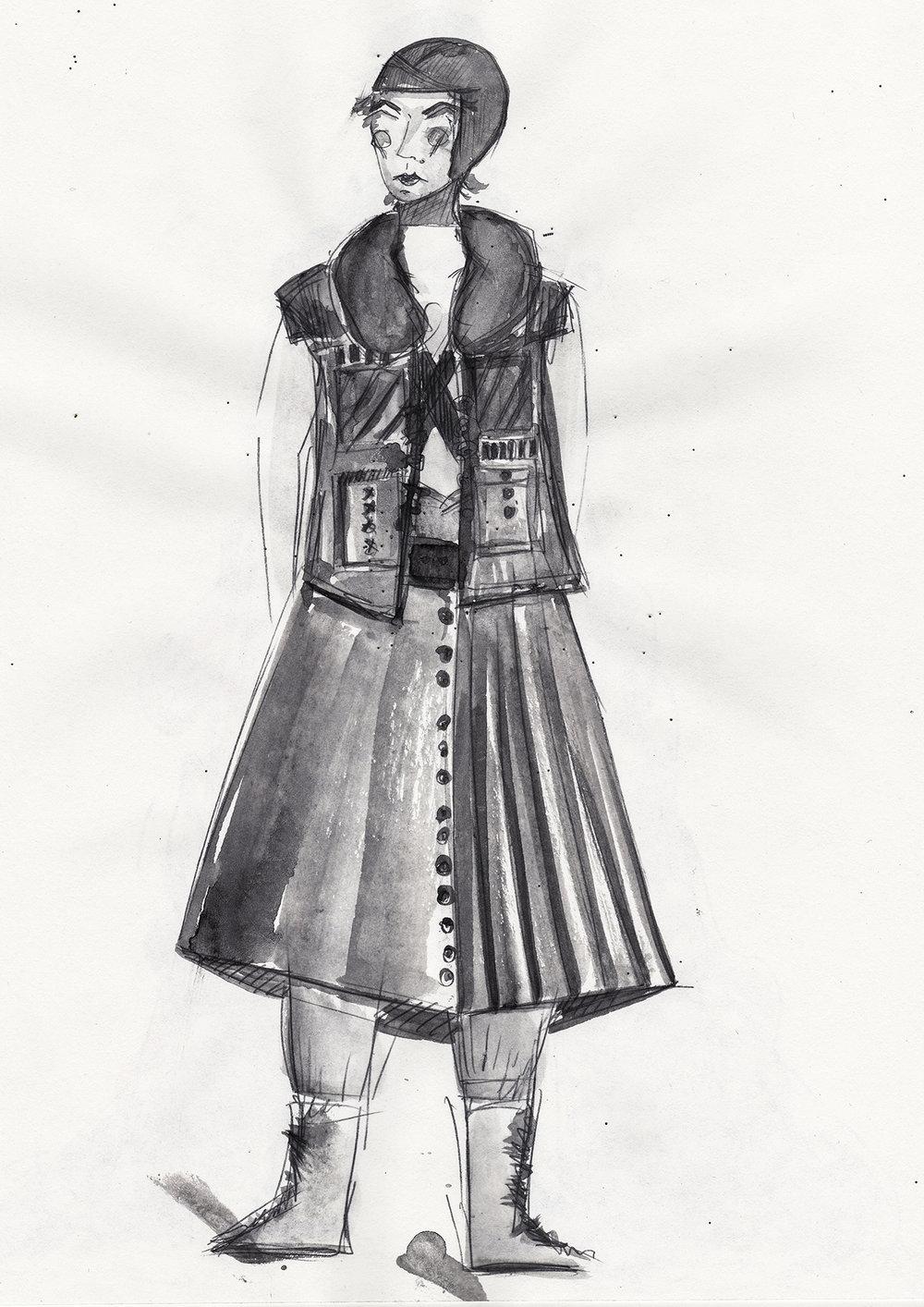 Macbeth /2/ and /7/ - Costume design