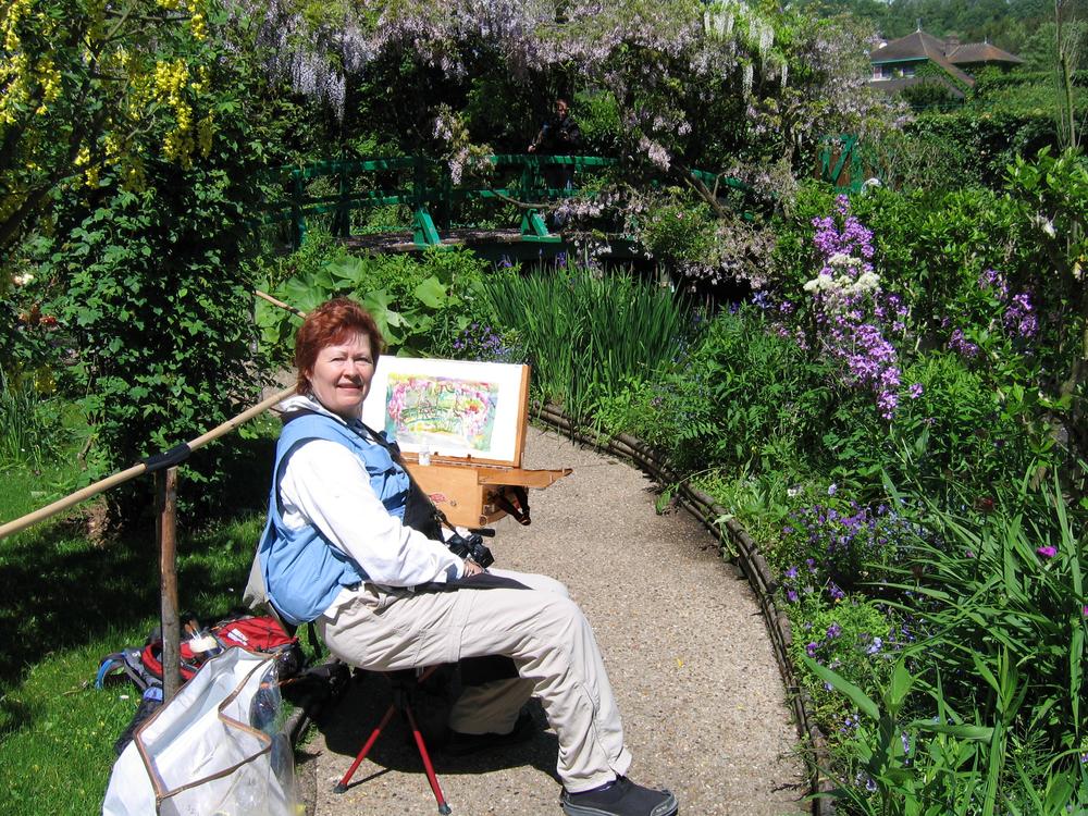 Vicki Ross Monet's Garden.jpg