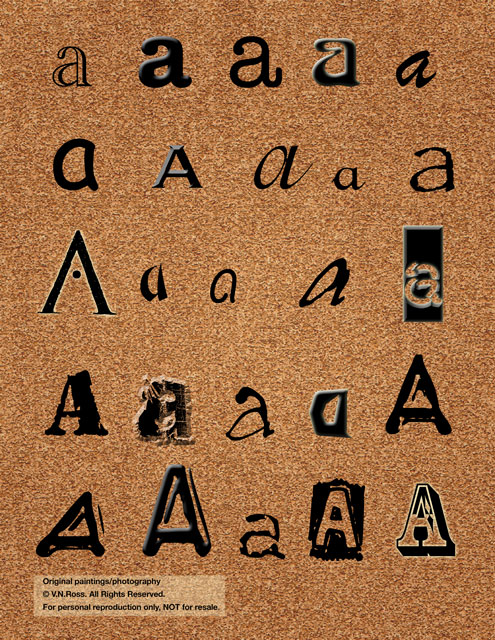 Alphabets & Words