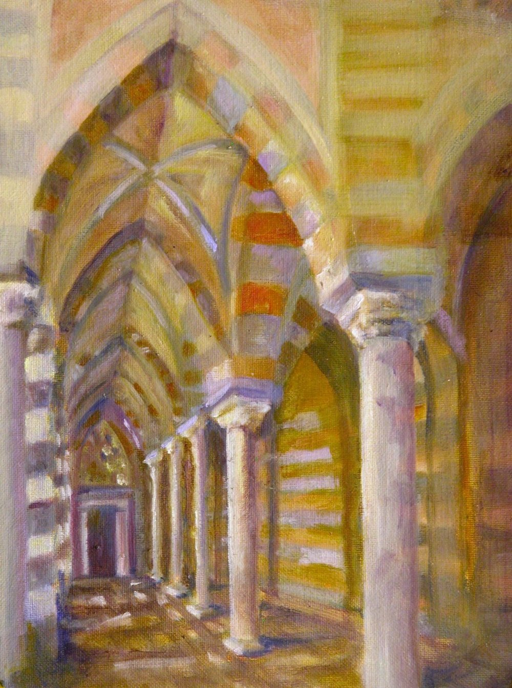 Ross amalfi arches oil.jpg