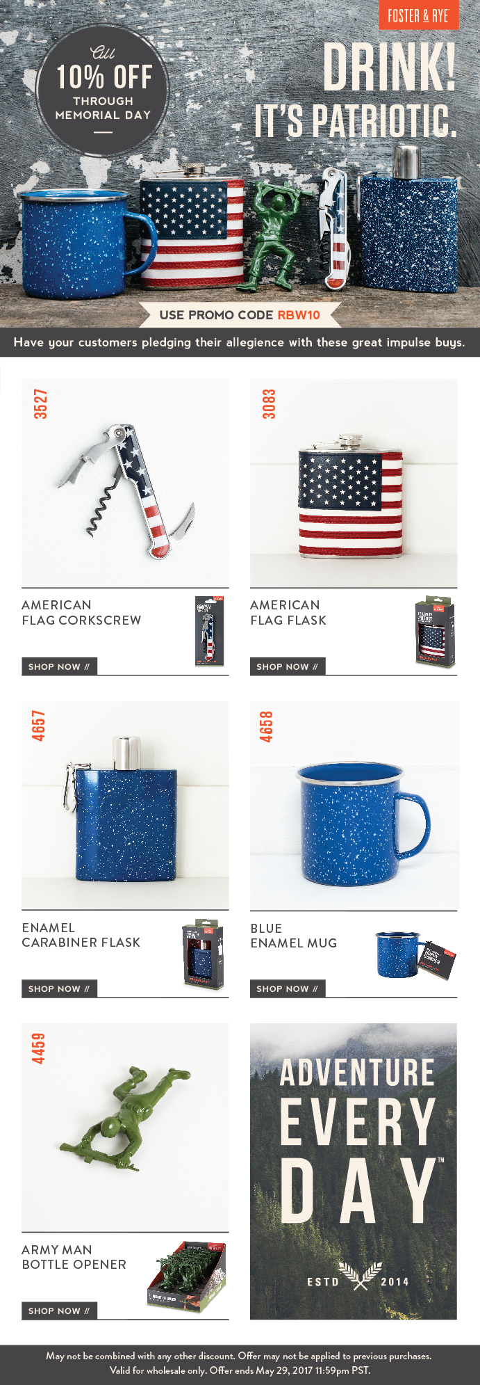 Americana Product Email