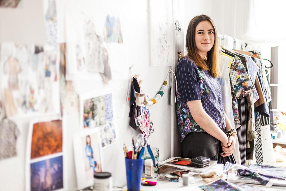 New York Fashion Designers Pattern Print Focused Erica