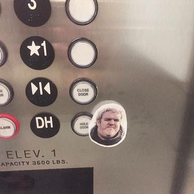 Hodor #found #gameofthrones
