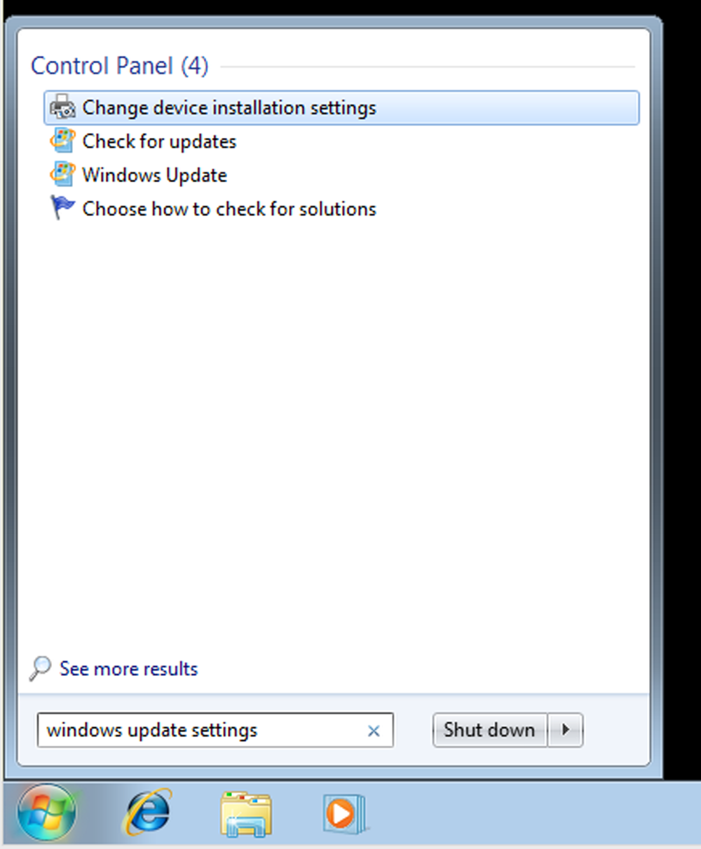 How to disable auto-update of Windows 7