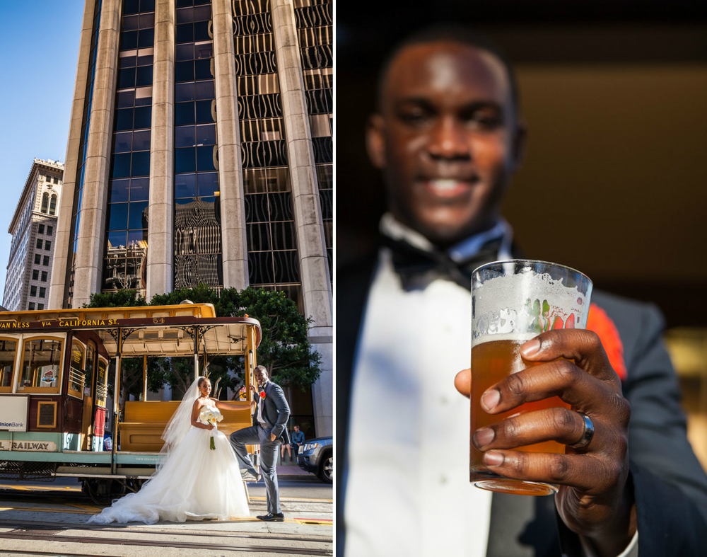 cable car wedding
