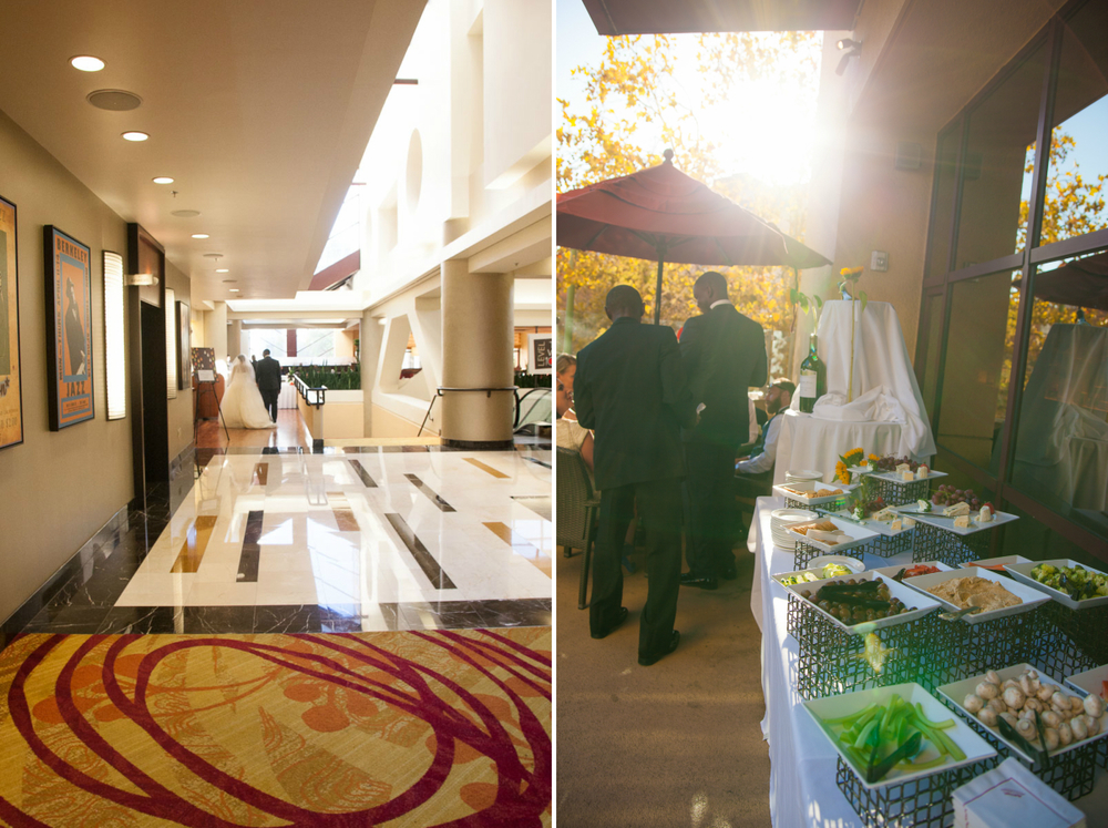 oakland marriott wedding reception