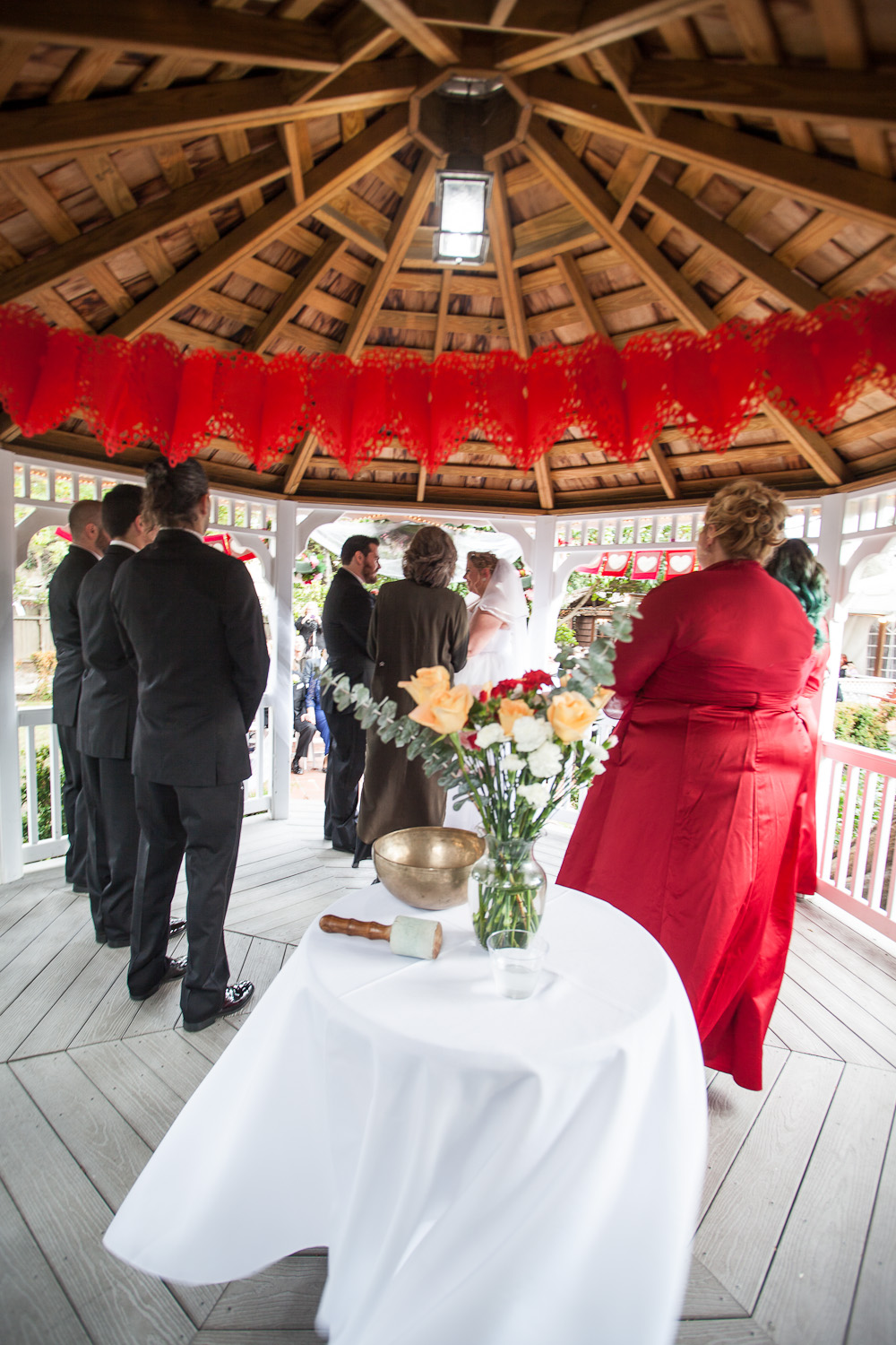 rockefeller lodge wedding ceremony