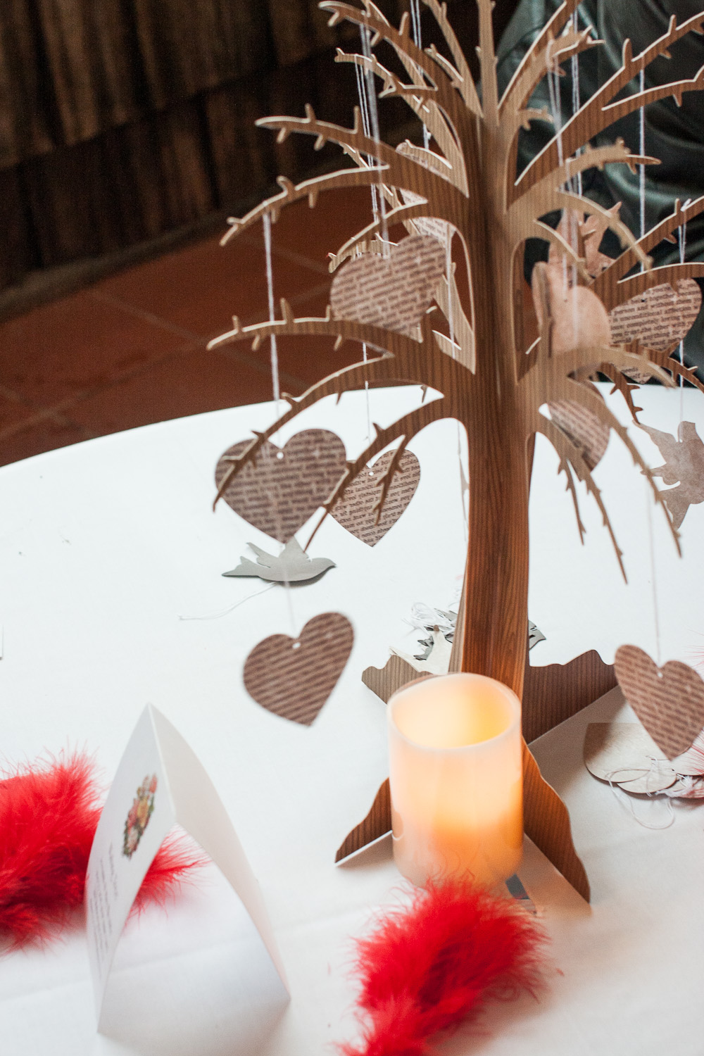 wishing tree centerpiece