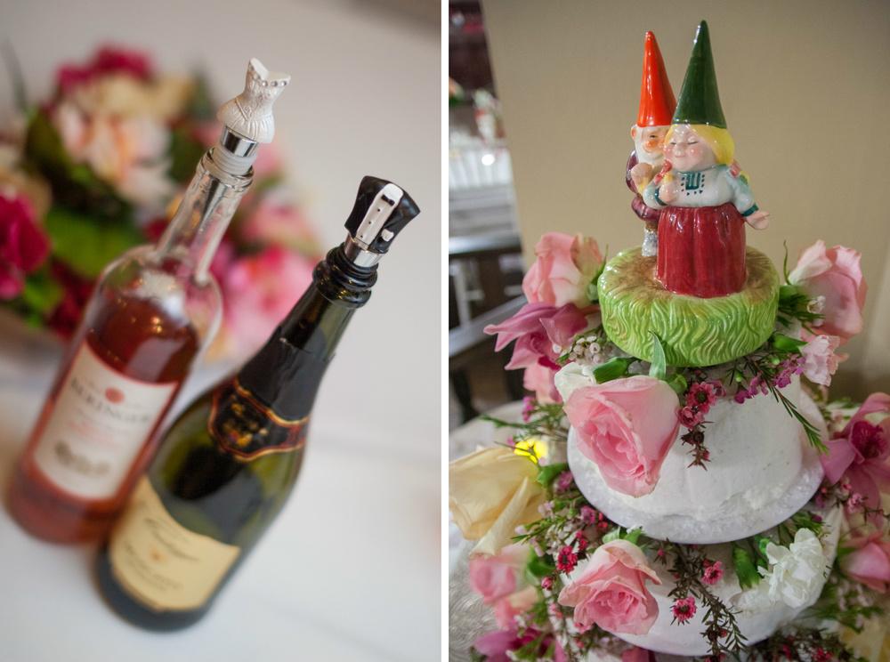 gnome cake topper