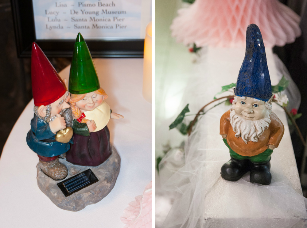 garden gnome wedding