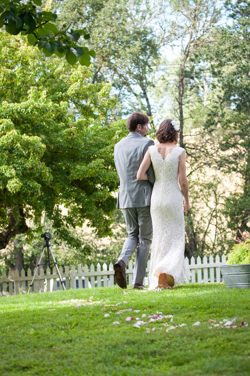 modesto outdoor wedding