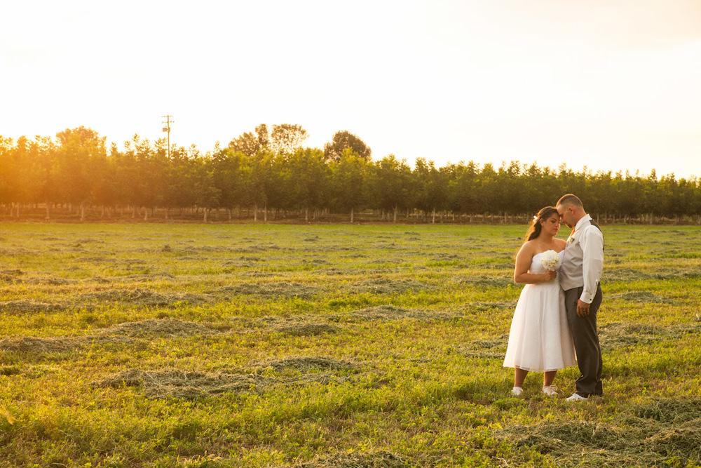 stockton country wedding