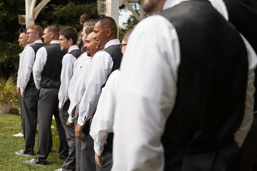 country wedding groomsmen