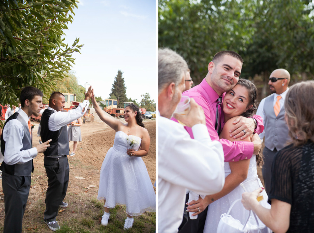 modesto country wedding photographer