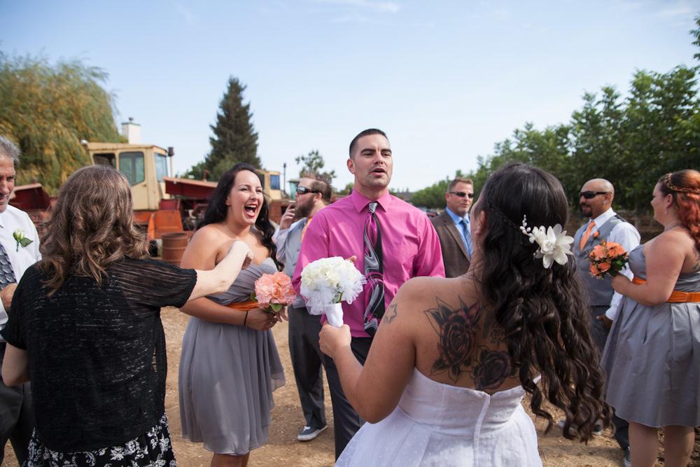 stockton country wedding photographer