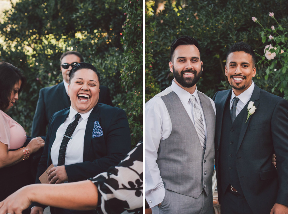 groom's friends