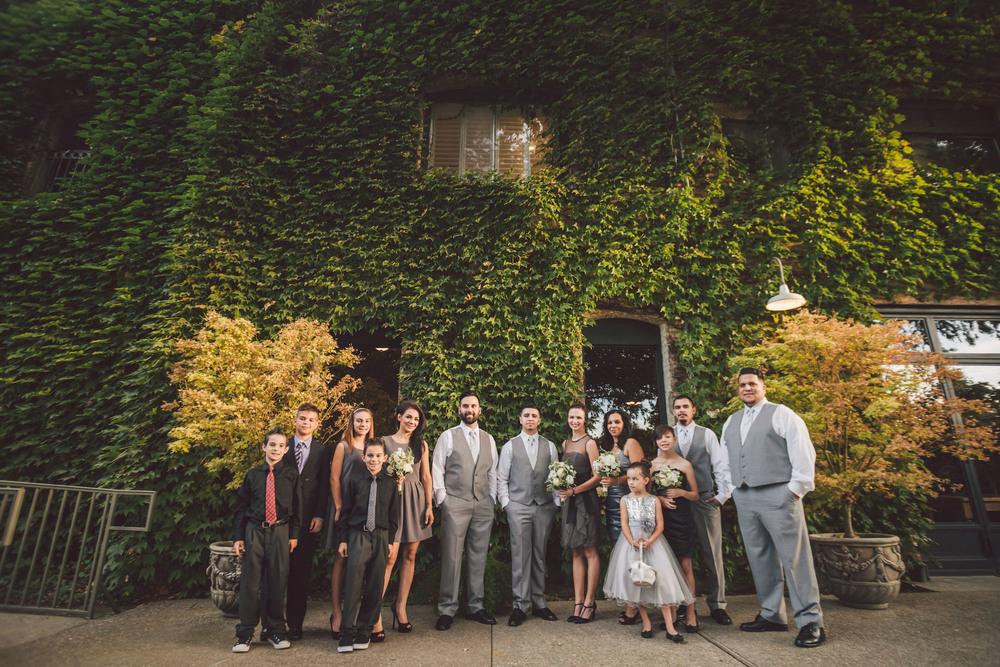 garden wedding stockton