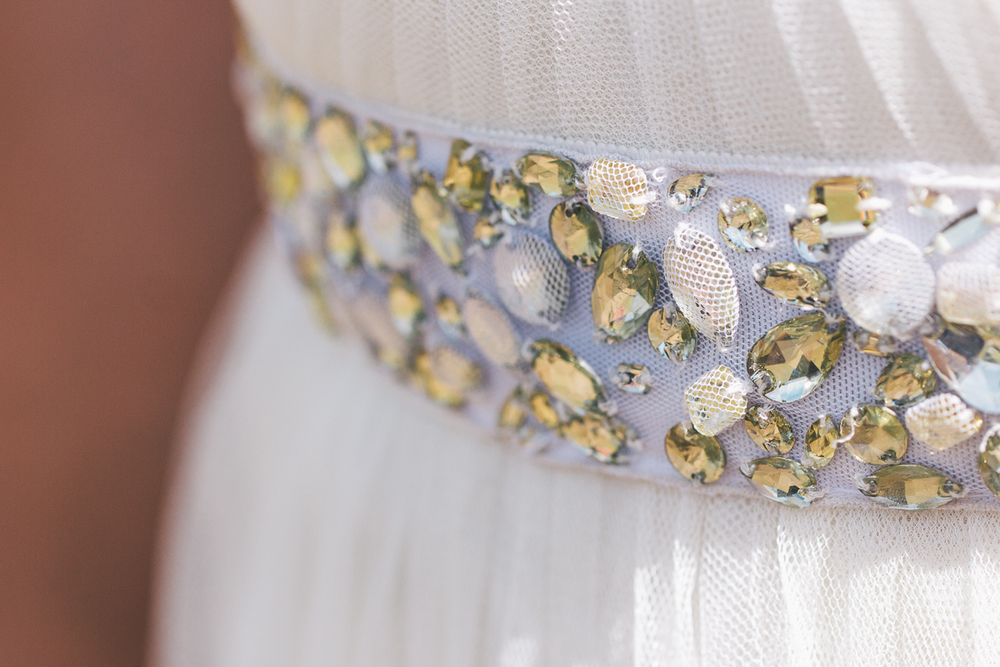 bride rhinestone belt