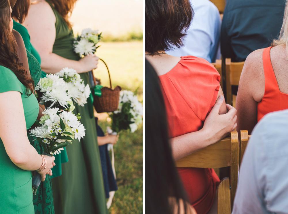 lesbian wedding rustic