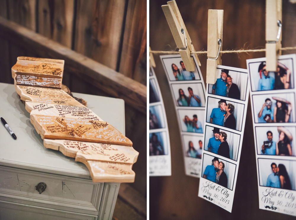 sacramento photo booth wedding