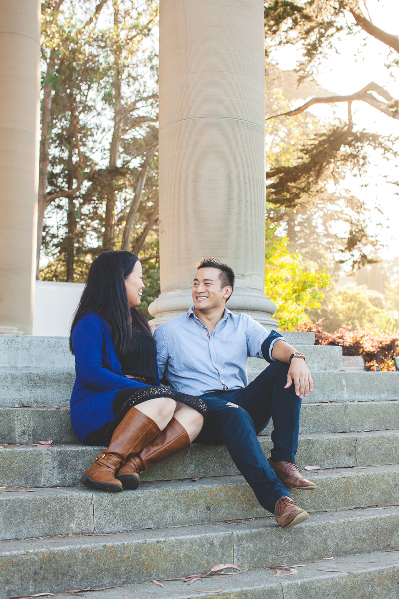 golden gate park engagement