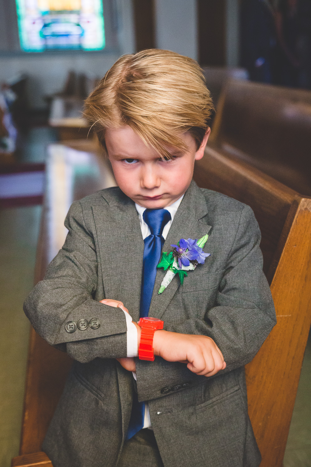 impatient ring bearer