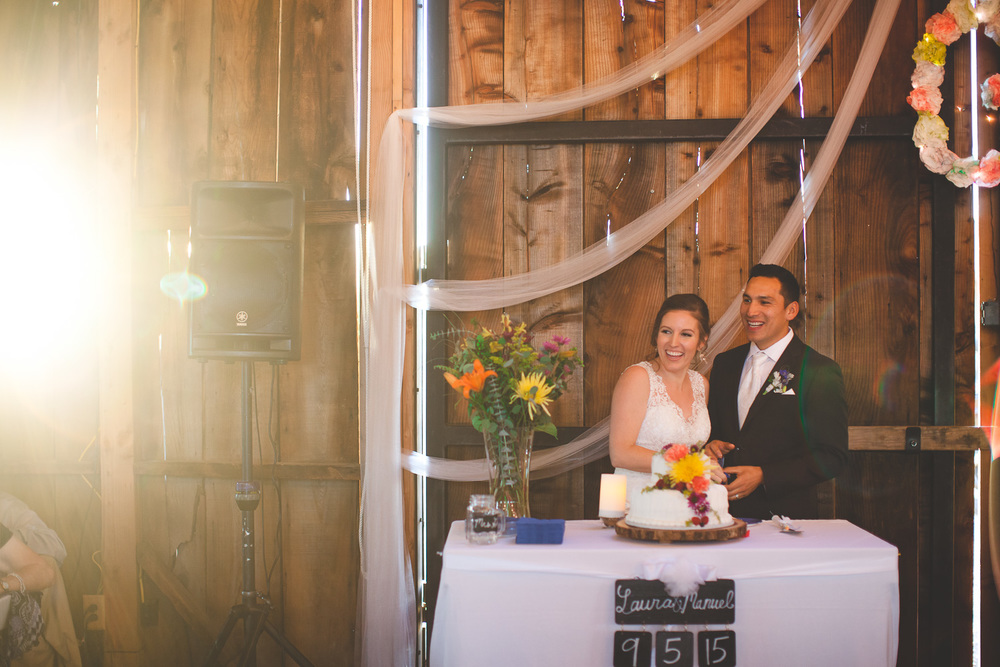 galas barn oakdale wedding