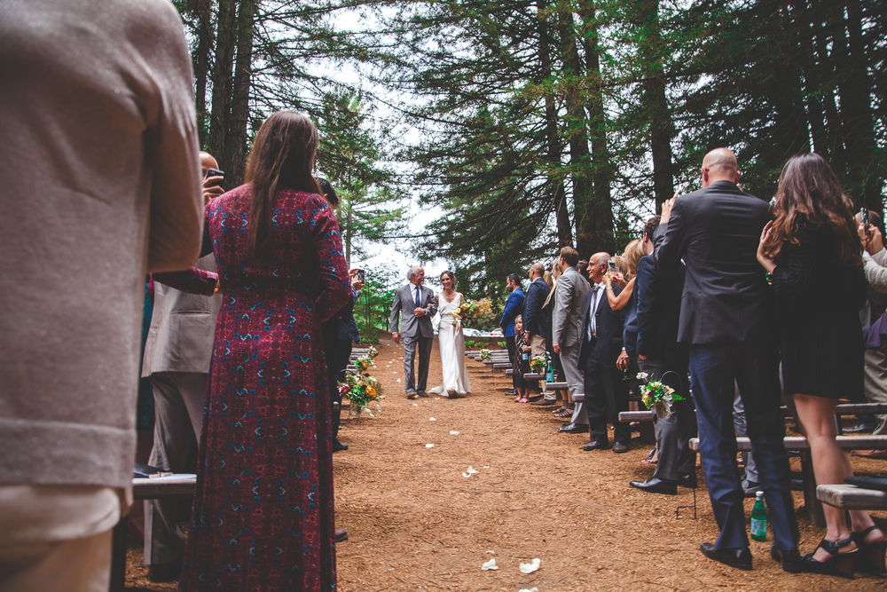 the grove occidental wedding ceremony