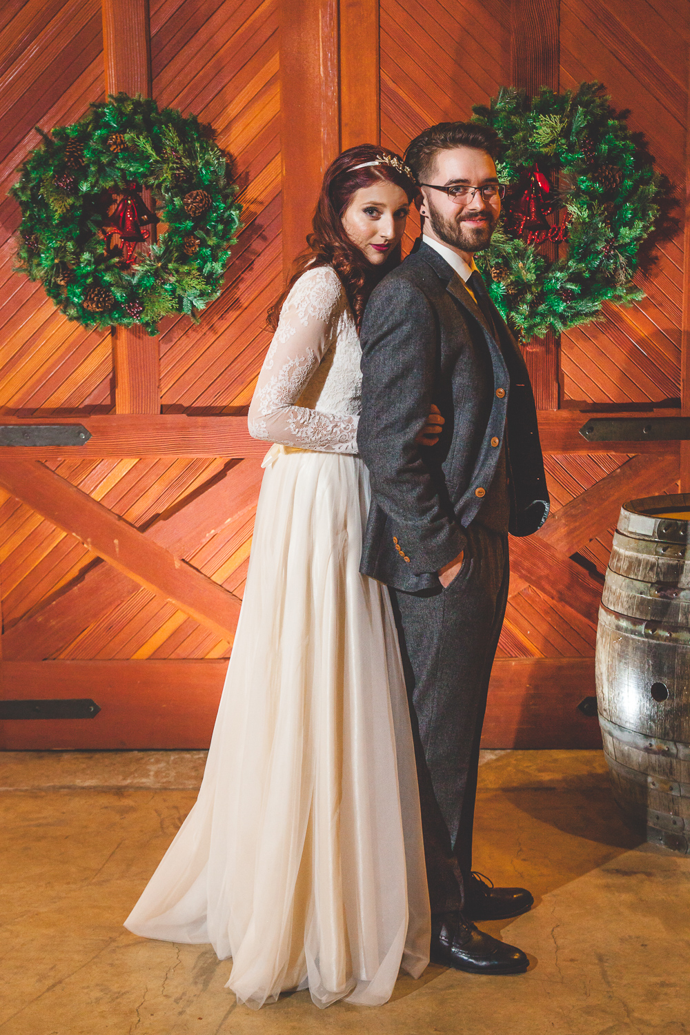 christmas theme wedding