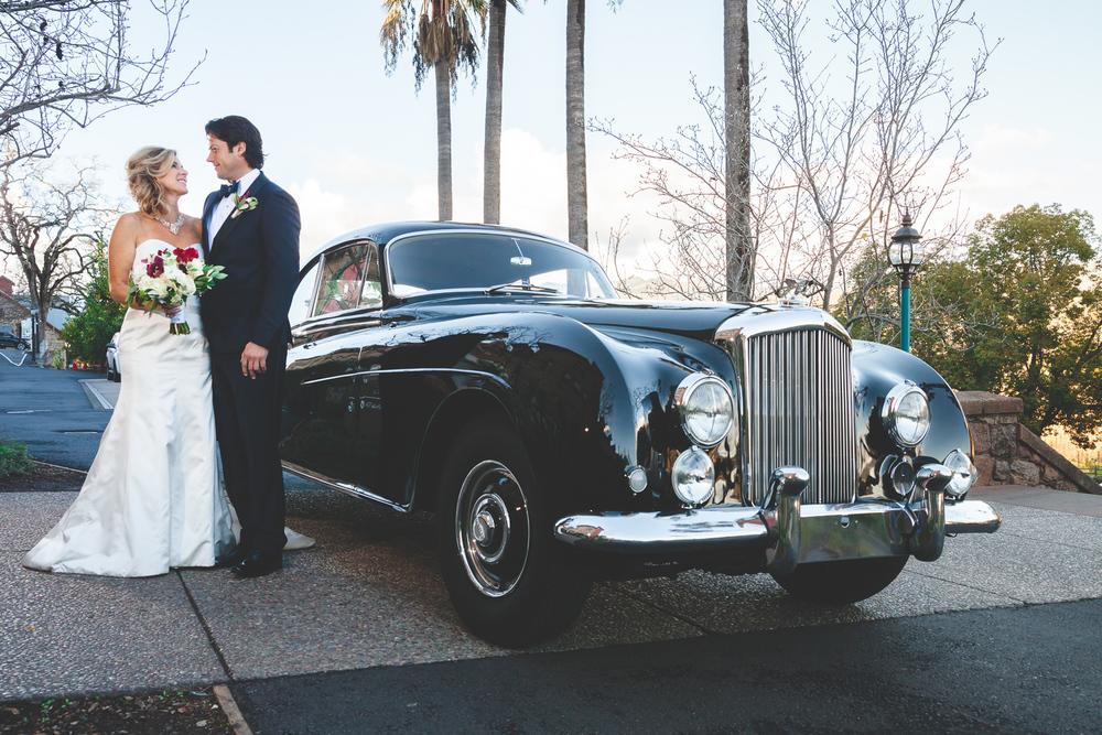 classic car modesto wedding