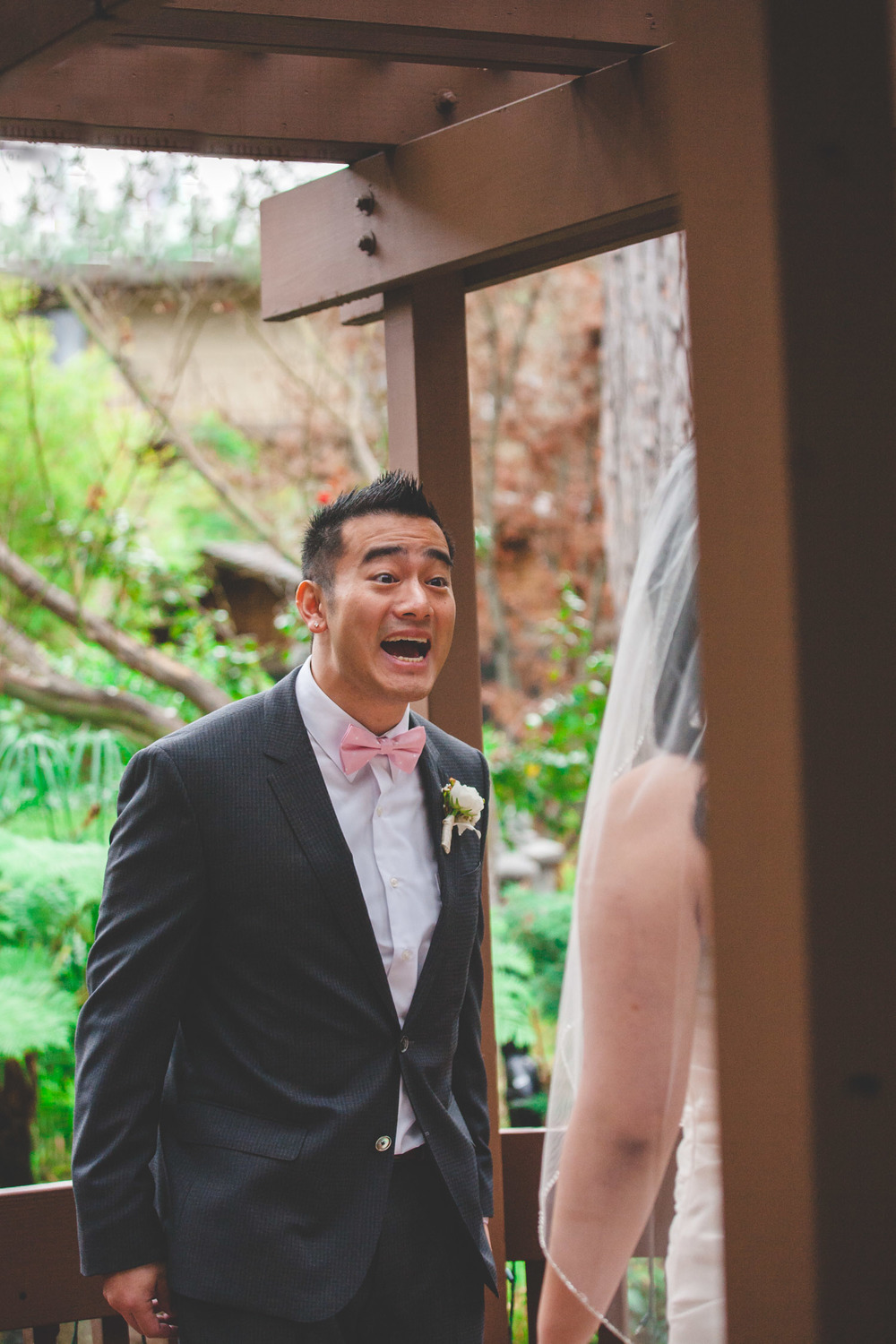 best first look groom reaction