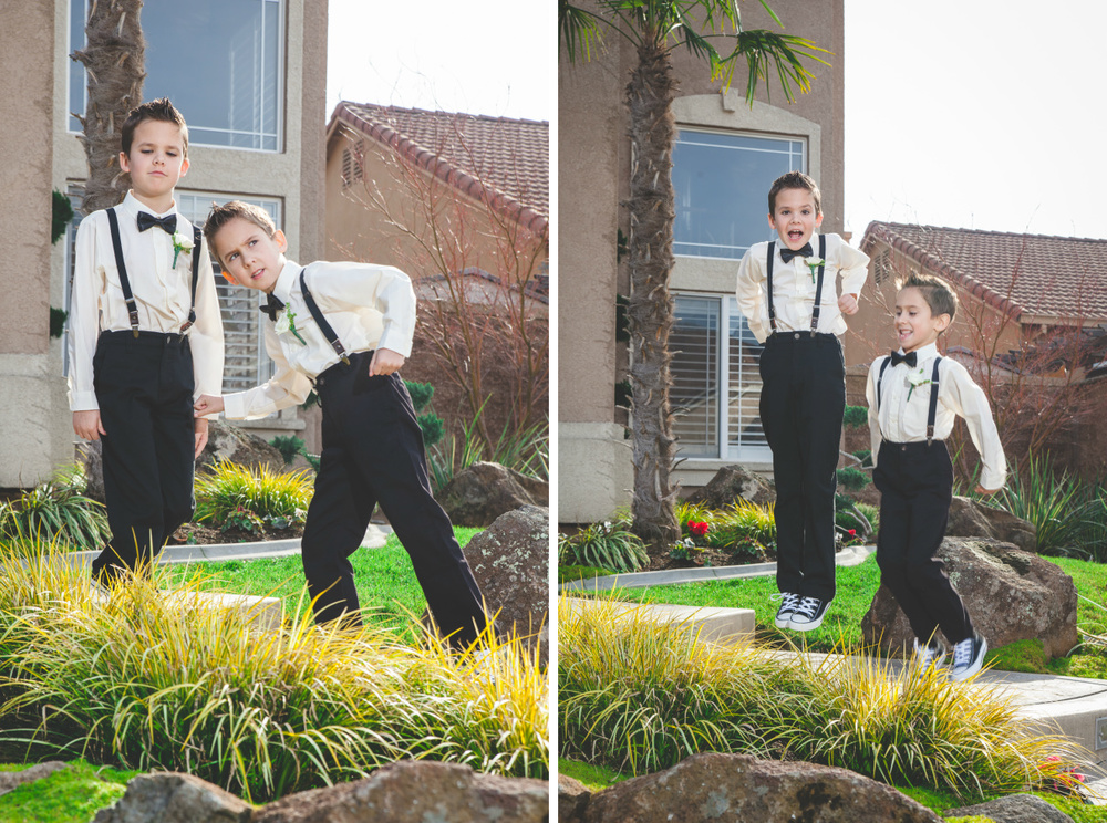 modesto wedding ring bearer
