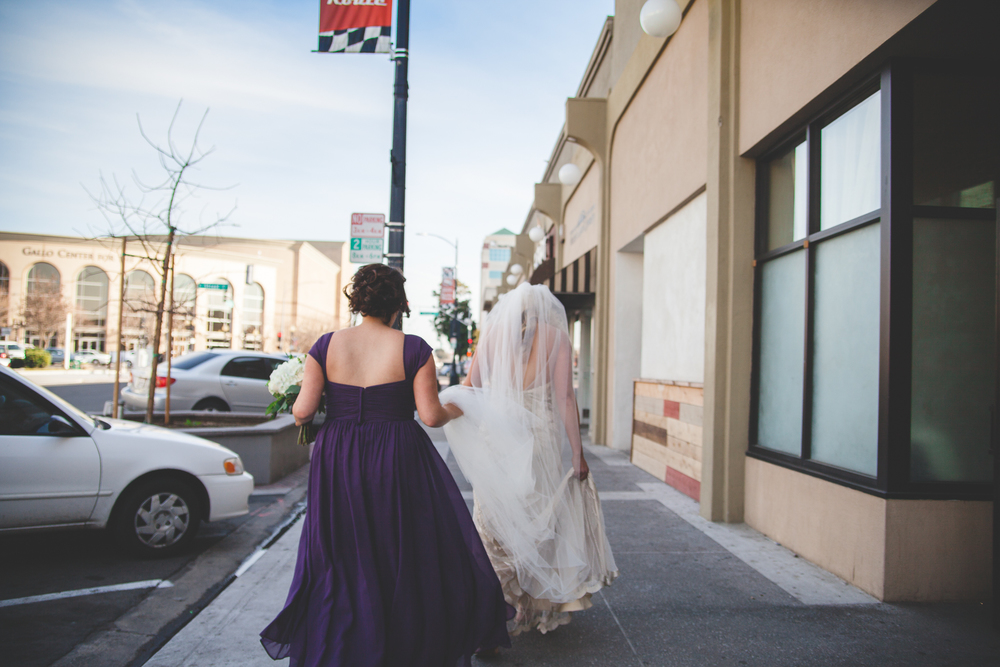 downtown modesto wedding